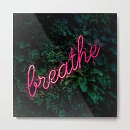 Breathe (Fabian Moller) Metal Print