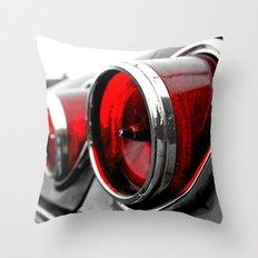 Impala taillights Throw Pillow