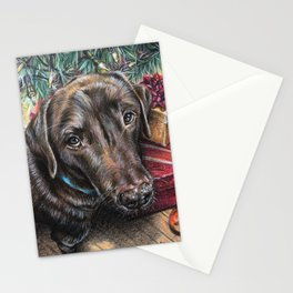 Best Christmas Present Ever Stationery Cards