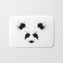 Rorshach Panda Bath Mat