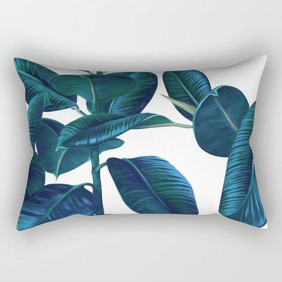 Luna Leaves Rectangular Pillow
