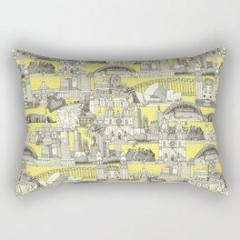AUSTRALIA toile de jouy Rectangular Pillow