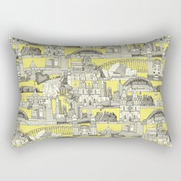 AUSTRALIA toile de jouy Rectangular Pillow
