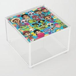 Latinx Pop Culture Acrylic Box