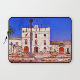 Joan Miro House with Palm Tree Laptop Sleeve