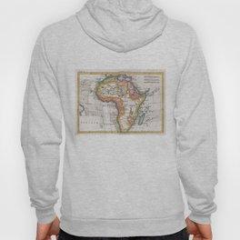 Vintage Map of Africa (1780)  Hoody