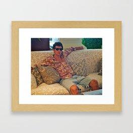 Pattern power Framed Art Print