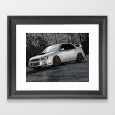 Subie Framed Art Print