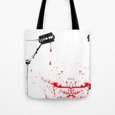 Razorblade Bloody Marry Tote Bag
