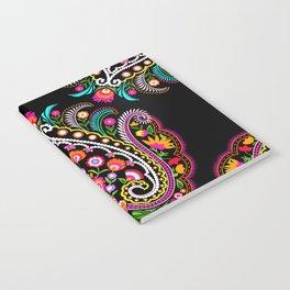 folk damask Notebook