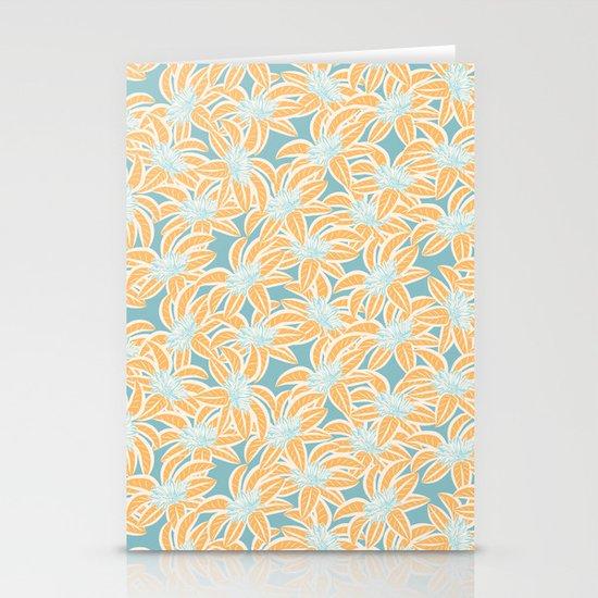 Sunny Tropics 3 Stationery Cards