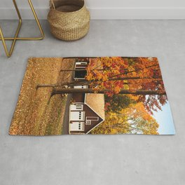 home in vermont Rug