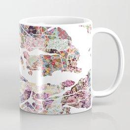Stockholm map Coffee Mug