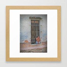 The Shouting Man Framed Art Print