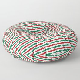 Christmas Subs Floor Pillow