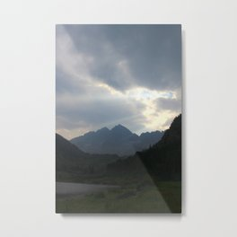 The Mountains Call Metal Print