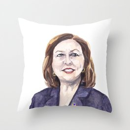 Women of the 113th - Sen. Deb Fischer Throw Pillow