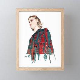Bottega Veneta SS21 Framed Mini Art Print