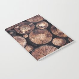 The Wood Holds Many Spirits Notebook