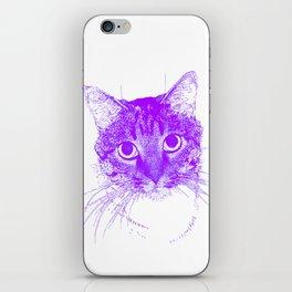 Jazz, drawing, purple iPhone Skin