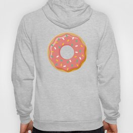 Cute Donut Icon With Sprinkles Hoody