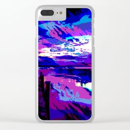 who was dragged down by the stone? Clear iPhone Case