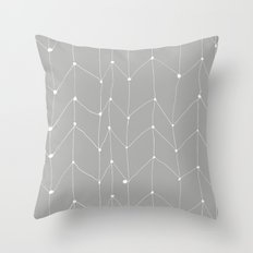 Zig Zag 1 Throw Pillow