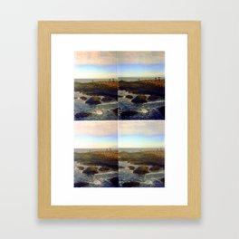 only a mirage reflection Framed Art Print
