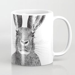 'The March Hare' stippling drawing Coffee Mug