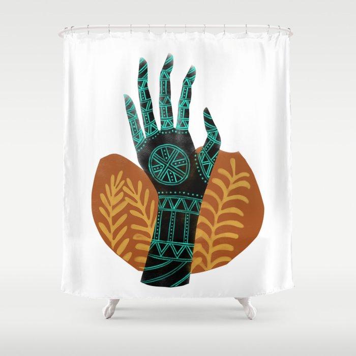 Goddess Of The First Harvest Shower Curtain By Sarashaffer