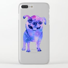 Galaxy Chihuahua Clear iPhone Case