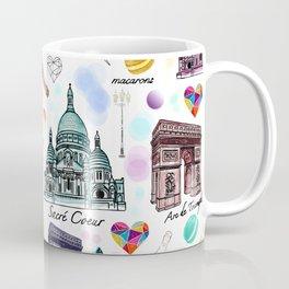 Voyage à Paris (Watercolor) Coffee Mug