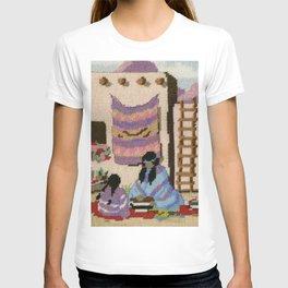 Cross Stitch Southwest Art 1a by Kathy Morton Stanion T-shirt