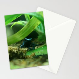 Poison (in Blue) Stationery Cards