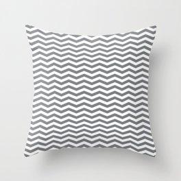 Chevron Navy Throw Pillow