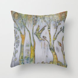 Be Still and All Will Rise Throw Pillow