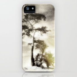 Deadly silence... iPhone Case