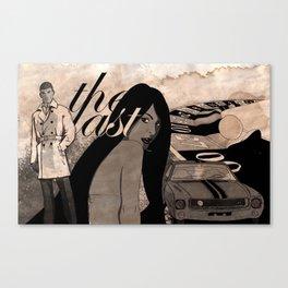 The Last Canvas Print