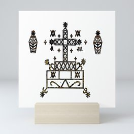 Baron Samedi Veve Sigil Mini Art Print