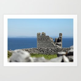 Old castle ruins Art Print