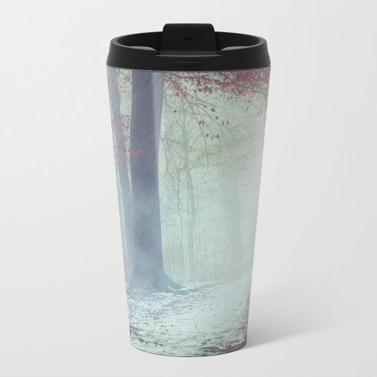 Snow Glow Metal Travel Mug