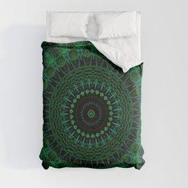 Emerald Green Mandala Comforters