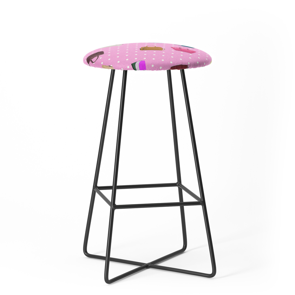 Purses and Handbags Bar Stool by gx9designs (BST7303716) photo