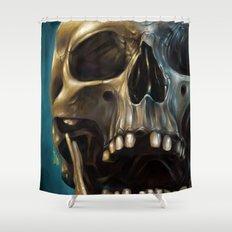 Skull 4 Shower Curtain