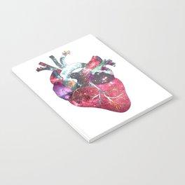 Superstar Heart (on grey) Notebook