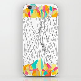 Strung Shapes iPhone Skin