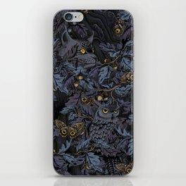 Fit In (moonlit blue) iPhone Skin