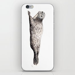 Harbour Seal iPhone Skin