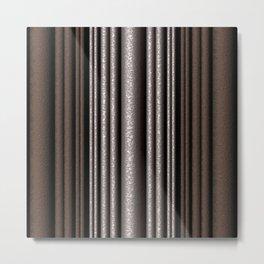 Hammered Metal/Rust Metal Print