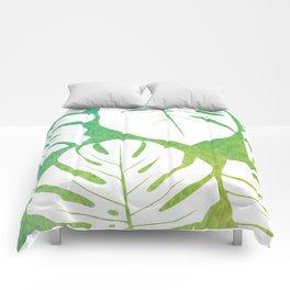 Monstera Pattern 1 Comforters